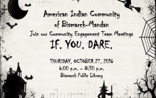 Halloween Flyer for October CET Meeting