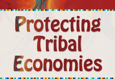 Title card for Protecting Tribal Economies Workshop