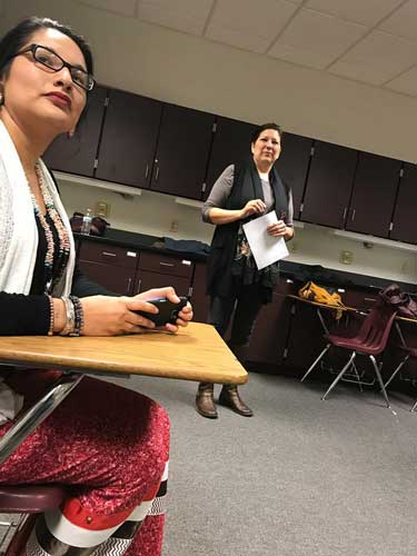 Roles of Native Women workshop, January 2018