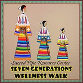 Poster for Seven Generations Wellness Walk