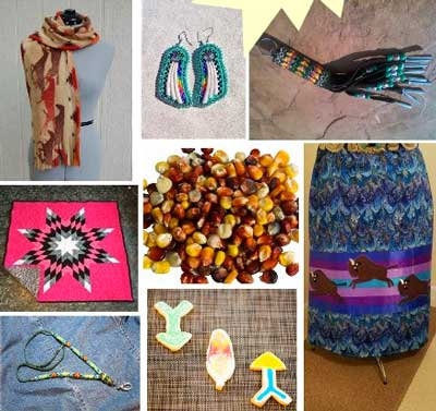 Handmade gifts from the 2nd Annual ARTISTS FAIR