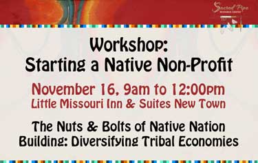 Starting a Native Non-Profit registration banner