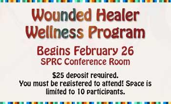 Wounded Healers registration banner