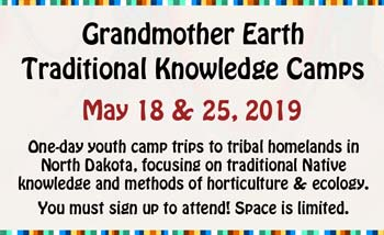Grandmother Earth camps flyer