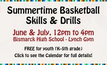 Summertime Skills & Drills banner