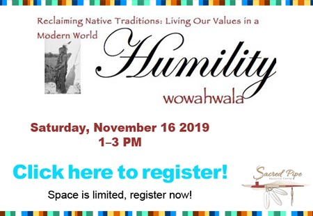Reclaiming Native Traditions event banner