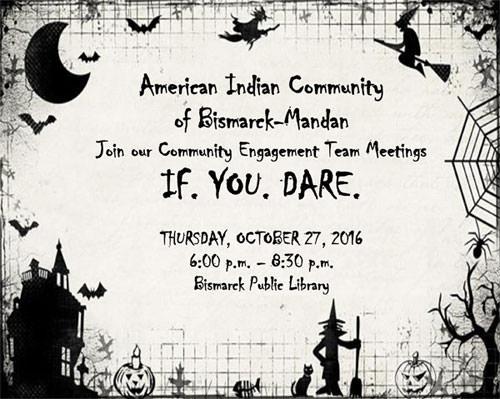 Halloween Flyer for October CET Meeting