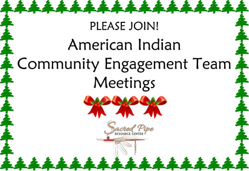 Holiday flyer for November CET Meetings