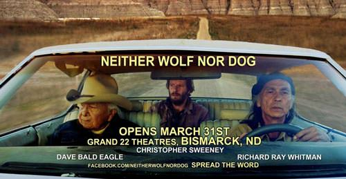 Movie poster for Neither Wolf Nor Dog
