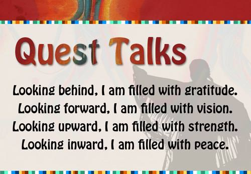 Title card for Quest Talks