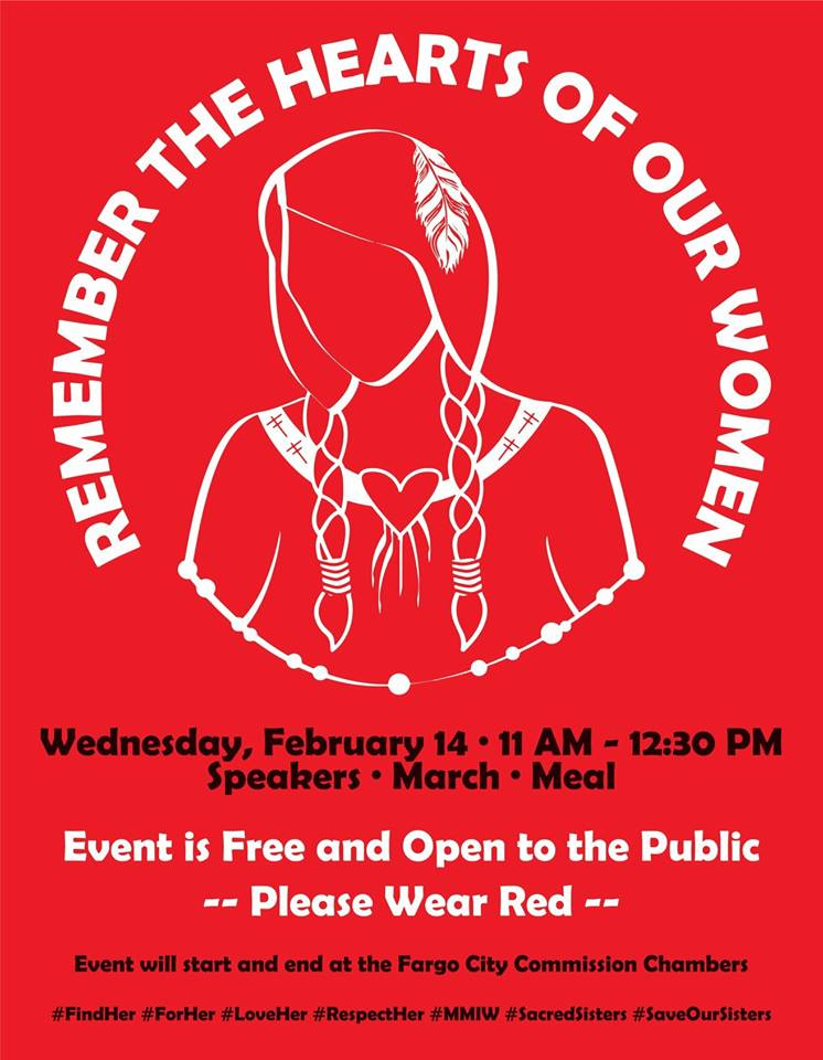 Poster for Remember the Hearts of Our Women march