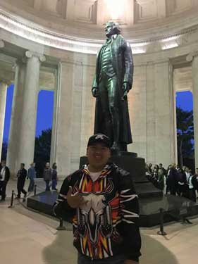 Kendrick Eagle in Washington, D.C.